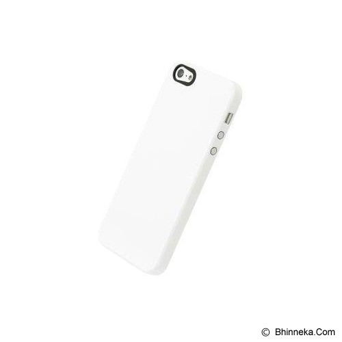 POWER SUPPORT Air Jacket for Apple iPhone 5 Rubber Coating [PJK-70] - White - Casing Handphone / Case